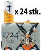 1724 Tonic Water DÅSER x 24 stk i kasse - Perfect for Gin and Tonic 20 cl