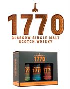 1770 Glasgow Giftbox 3 x 5 cl Miniature Single Malt Scotch Whisky 46%