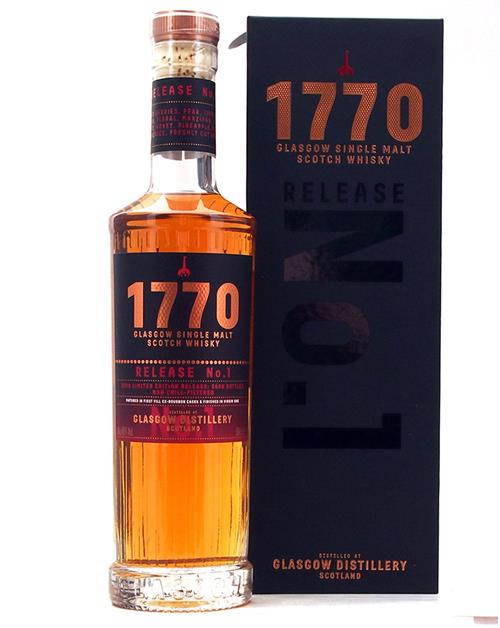 1770 Glasgow Single Malt Scotch Whisky 46%