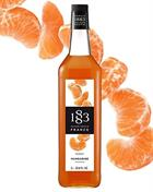 1883 Mandarin Sirup 100 cl 1883 Maison Routin France