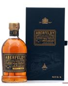 Aberfeldy 21 år Single Malt Highland Whisky 40%