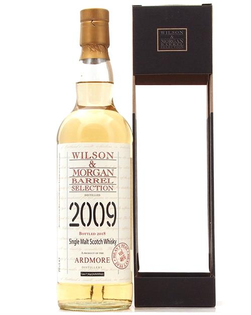 Ardmore 2009/2018 Heavy Peat Single Highland Whisky Wilson & Morgan 46%