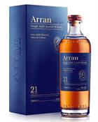 Arran 21 år Single Island Malt Whisky 46%