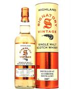 Auchroisk 2007/2018 Signatory 11 år Single Speyside Malt Whisky 43%