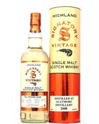 Aultmore 2008/2019 Signatory 10 år Single Speyside Malt Whisky 43%