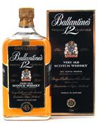 Ballantines 12 år Very Old Scotch Whisky 100 cl 43%