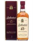 Ballantines 15 år Very Old Scotch Whisky