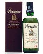 Ballantines 17 year old Duty Free