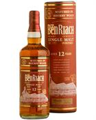 BenRiach 12 år Sherry Matured Single Highland Malt Whisky 46%