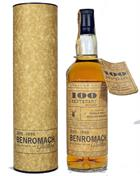 Benromach 100 Centenary 17 år Single Speyside Malt Whisky 43%