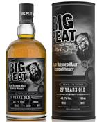 Big Peat 27 år Vintage 1992 Series No 3 The Black Edition DL Blended Islay Malt Whisky 48,3%