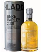 Bruichladdich 2008 Bere Barley Single Islay Malt Whisky 50%