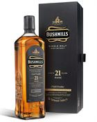 Bushmills 21 year whisky