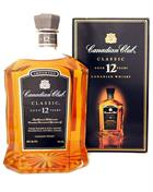 Canadian Club Classic 12 år Old Version Blended Canadian Whisky 40%