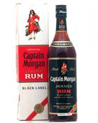 Captain Morgan Black Label Old Version 70ies rom 43%