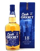 Cask Orkney 18 år Dewar Rattray Limited Edition Single Orkney Malt whisky 46%