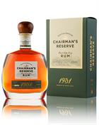 Chairmans Reserve 1931 Finest St Lucia Rom 46%