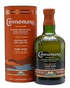 Connemara Turf Mor Travel Retail Exclusive Peated Irish Single Malt Whiskey 46%