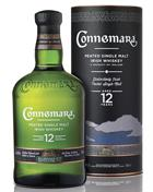 Connemara 12 år Peated Irish Single Malt Whiskey 40%