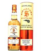 Dailuaine 1997/2019 Signatory Vintage 21 år Single Speyside Malt whisky 43%