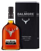 Dalmore 2006 Vintage 10 år Single Highland Malt Whisky 46%