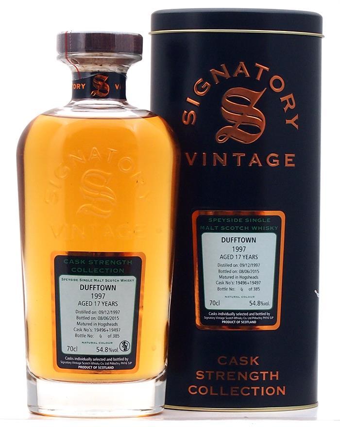 Signatory vintage 1989 highland whisky