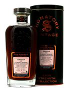 Edradour 2009/2019 Signatory 9 år FC Whisky 20 years Anniversary Single Highland Malt 57,9%
