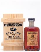 Edradour Straight From Cask Natural Cask Strength Single Highland Malt