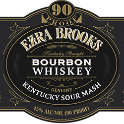 Ezra Brooks Whiskey