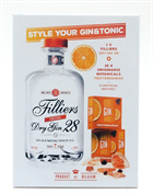 Fillers 28 Tangerine Dry Gin Giftbox