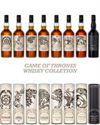 Game of Thrones Whisky Collection hele serien 8x70 cl 40%