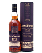 Glendronach 1992 Vintage 25 år Danish Whisky Retailers Single Highland Malt Whisky 48%