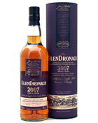 Glendronach 2007 Julemalten 2018 Danish Whisky Retailers Single Highland Malt Whisky 46%