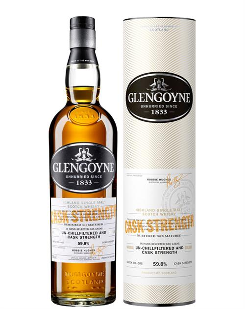 Glengoyne Cask Strength Single Highland Malt Whisky
