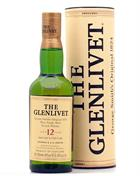Glenlivet 12 year old version Pure Single Scotch Malt Whisky 40%