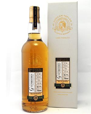Glenrothes 1991 Duncan Taylor Dimensions