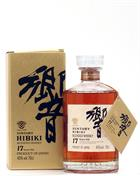 Hibiki 17 år Old Version Suntory Blended Whisky Japan 43%