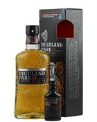 Highland Park 12 år Viking Honour + Dragon Legend Miniature Single Orkney Malt Whisky 40% / 43,1%