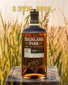 2 stk. Highland Park Single Cask Daner Single Orkney Malt Whisky 63,3%