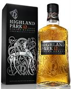 Highland Park 12 år Viking Honour Single Orkney Malt Whisky 40 procent alkohol