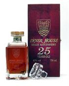Inver House 25 år Deluxe Scotch Whisky 43%