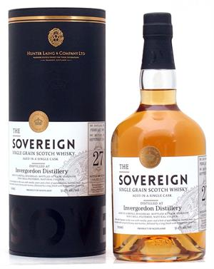 Invergordon 1988 Sovereign 27 år Single Grain Scotch Whisky 51,1%