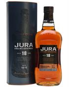 Isle of Jura 18 år Single Jura Malt Whisky 44%