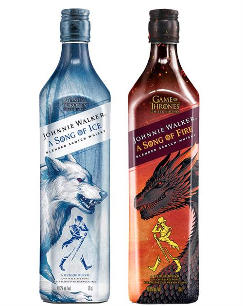Johnnie Walker a Song of Ice & Fire Blended Scotch Whisky 40,2 - 40,8%