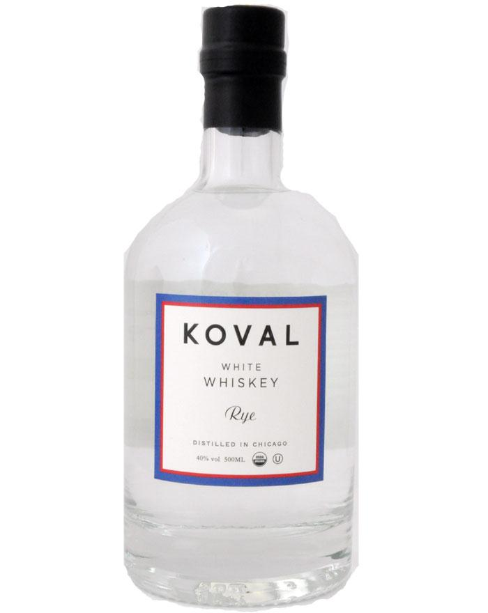 Koval Rye White Whiskey Chicago 40%