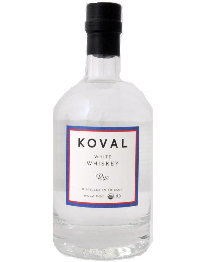 Koval Rye White Whiskey Chicago 40%
