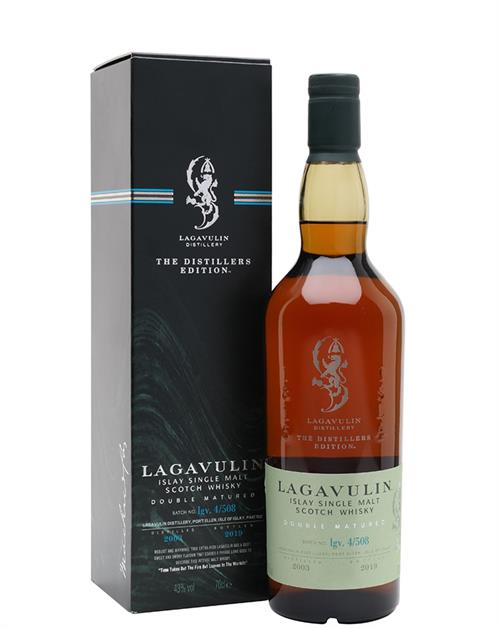 Lagavulin Distillers Edition 2003/2019 Single Islay Malt Whisky 70 cl 43%