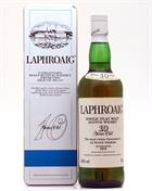 Laphroaig 10 year old Pre Royal Warrent 75cl Unblended Tin Box Single Islay Malt Whisky 40%