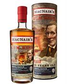 MacNair's Lum Reek 12 år Small Batch Blended Malt Scotch Whisky 46%