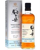 Mars Komagatake 2011/2014 Sherry/White oak Japanese Single Malt Whiskey 70 cl. Whisky Japan 57%
